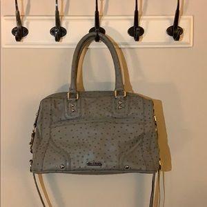 Rebecca Minkoff Mab Bag in Soft Grey Ostrich